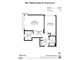 """Photo 21: 706 1250 BURNABY Street in Vancouver: West End VW Condo for sale in """"Horizon"""" (Vancouver West)  : MLS®# R2587984"""