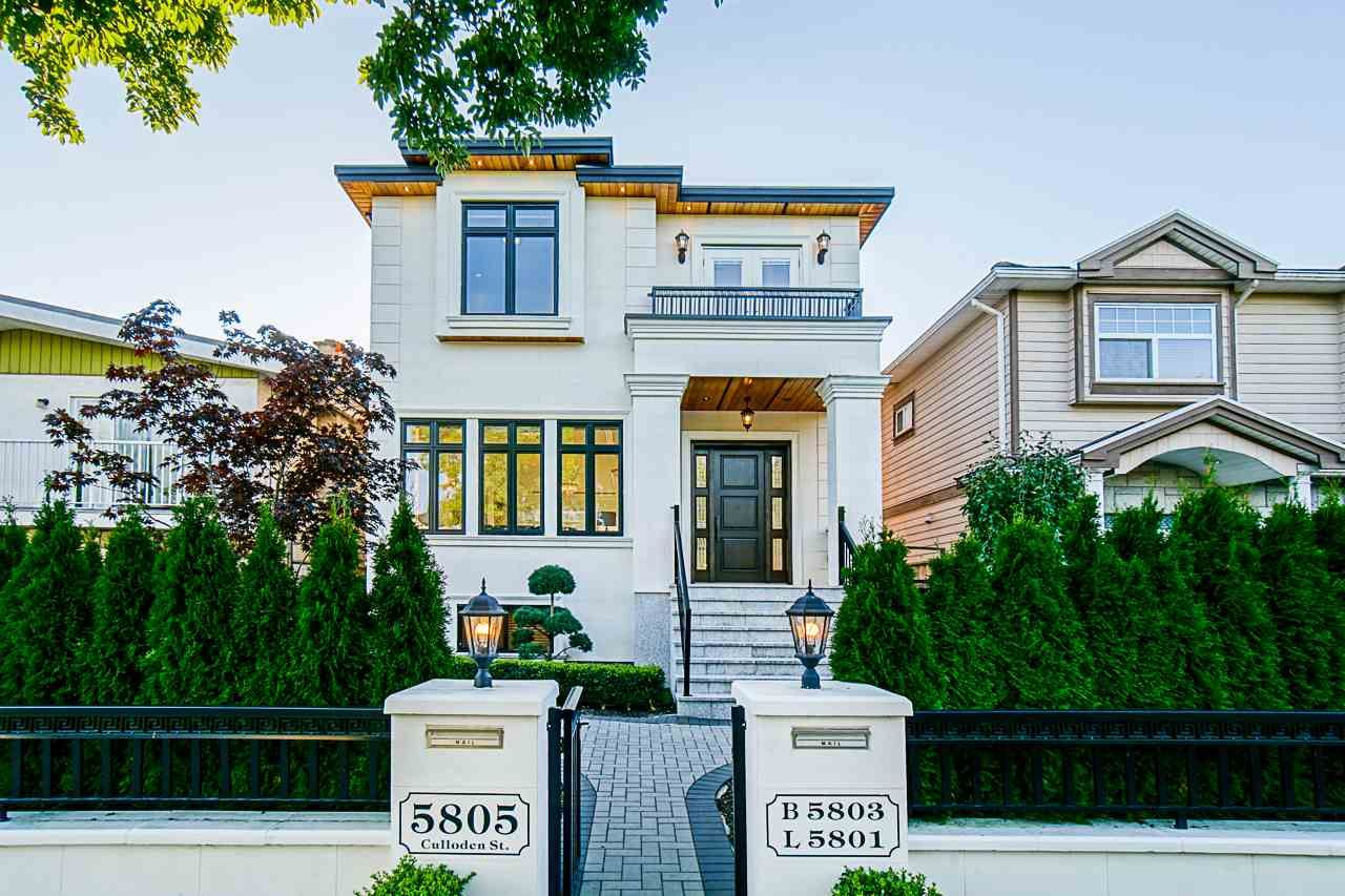 Main Photo: 5805 CULLODEN Street in Vancouver: Knight House for sale (Vancouver East)  : MLS®# R2502667