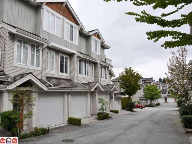 Main Photo: 41 14877 58TH Avenue in Surrey: Sullivan Station Townhouse for sale : MLS®# F1300739