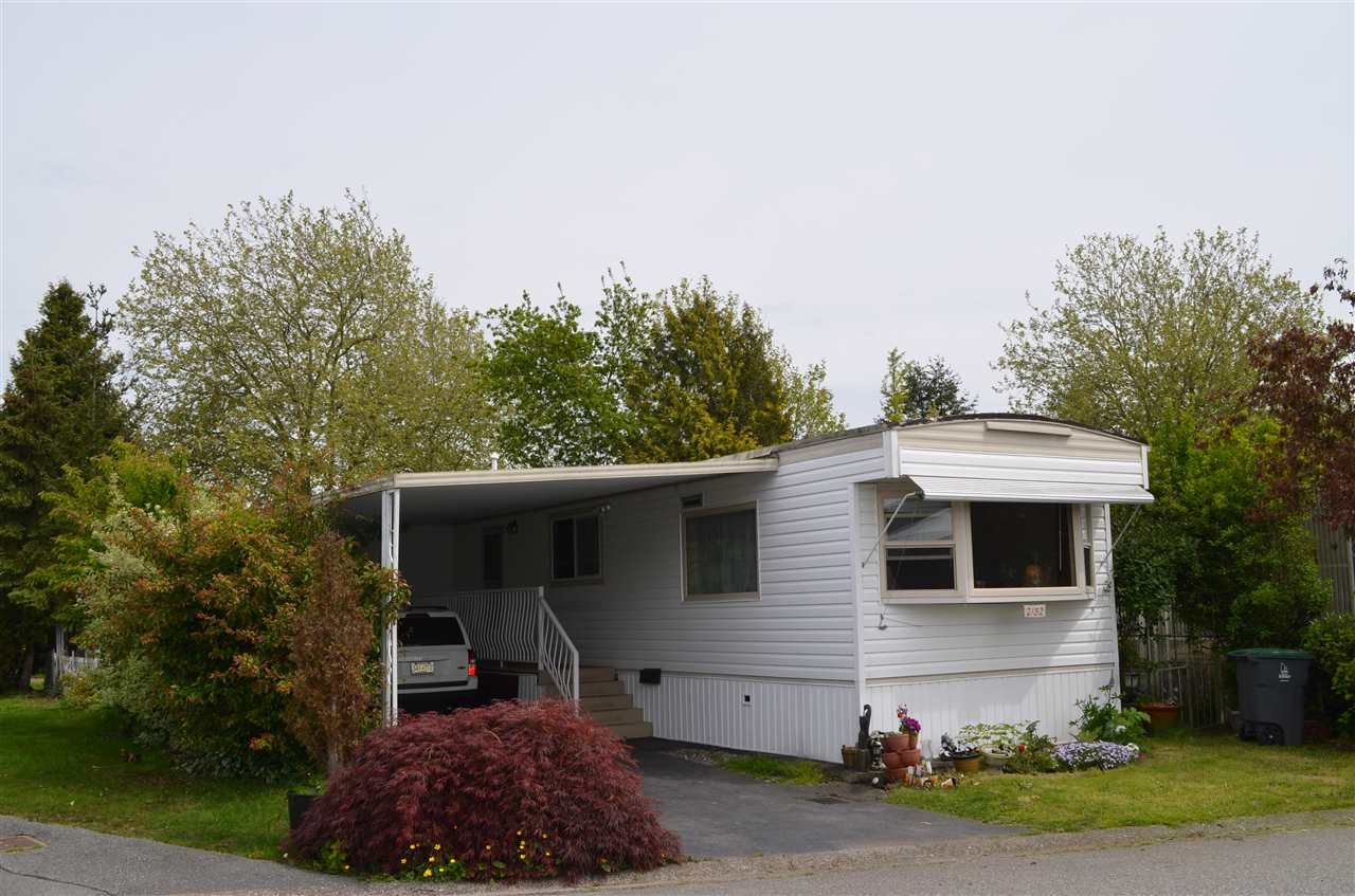 """Main Photo: 2152 CUMBRIA Drive in Surrey: King George Corridor Manufactured Home for sale in """"CRANLEY PLACE"""" (South Surrey White Rock)  : MLS®# R2165076"""
