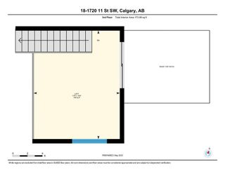 Photo 33: 18 1720 11 Street SW in Calgary: Lower Mount Royal Row/Townhouse for sale : MLS®# A1107691