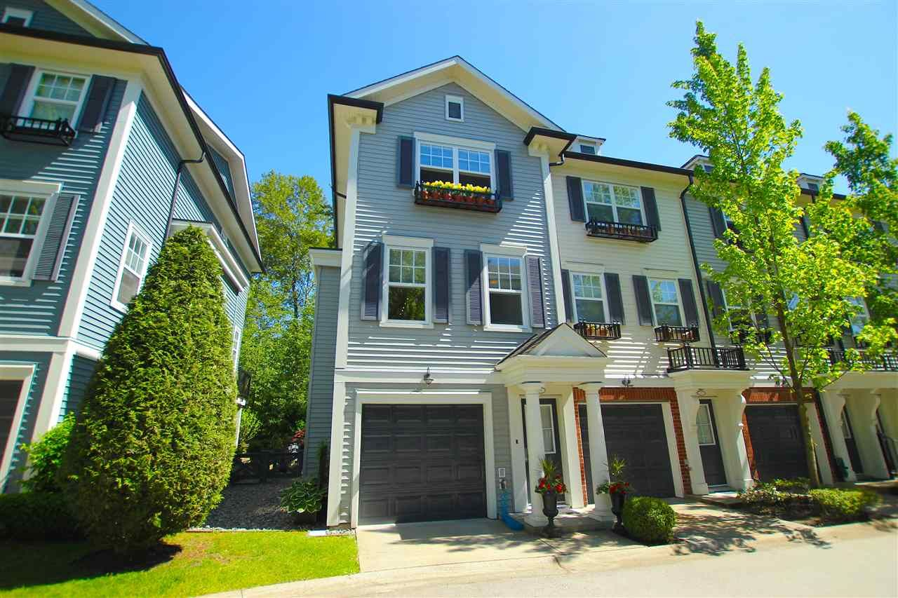 """Main Photo: 38 2495 DAVIES Avenue in Port Coquitlam: Central Pt Coquitlam Townhouse for sale in """"ARBOUR"""" : MLS®# R2068269"""