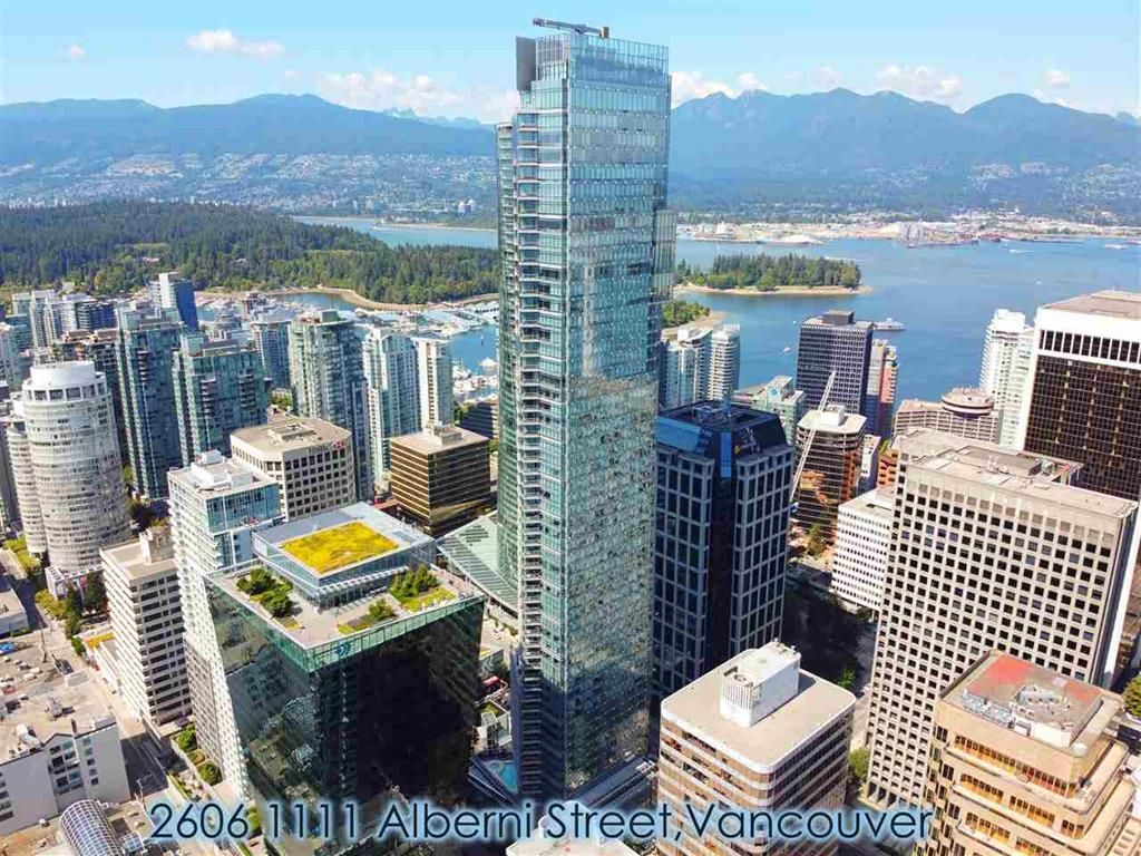 Main Photo: 2606 1111 Alberni Street in Vancouver: West End Condo for sale (Vancouver West)  : MLS®# r2478466