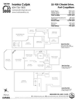"Photo 31: 32 920 CITADEL Drive in Port Coquitlam: Citadel PQ Townhouse for sale in ""CITADEL GREEN"" : MLS®# R2619051"