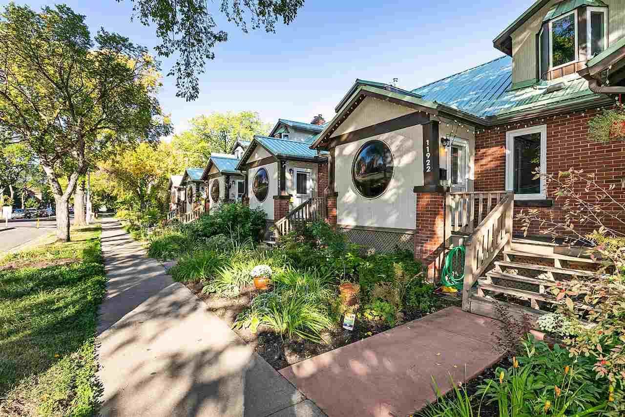 Main Photo: 11922 102 Avenue in Edmonton: Zone 12 Townhouse for sale : MLS®# E4236651