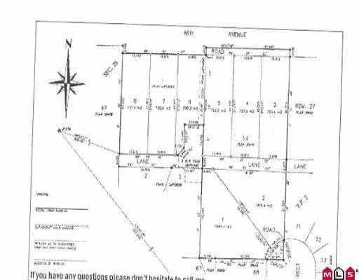 """Main Photo: 16308 88 AV in Surrey: Fleetwood Tynehead Land for sale in """"Fleetwod/Tynehead/Surrey"""" : MLS®# F2519764"""