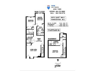 """Photo 16: 2575 EAST Mall in Vancouver: University VW Townhouse for sale in """"LOGAN LANE"""" (Vancouver West)  : MLS®# V839250"""