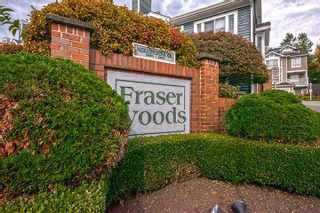"""Photo 1: 15 2656 MORNINGSTAR Crescent in Vancouver: Fraserview VE Townhouse for sale in """"FRASER WOODS"""" (Vancouver East)  : MLS®# R2007119"""