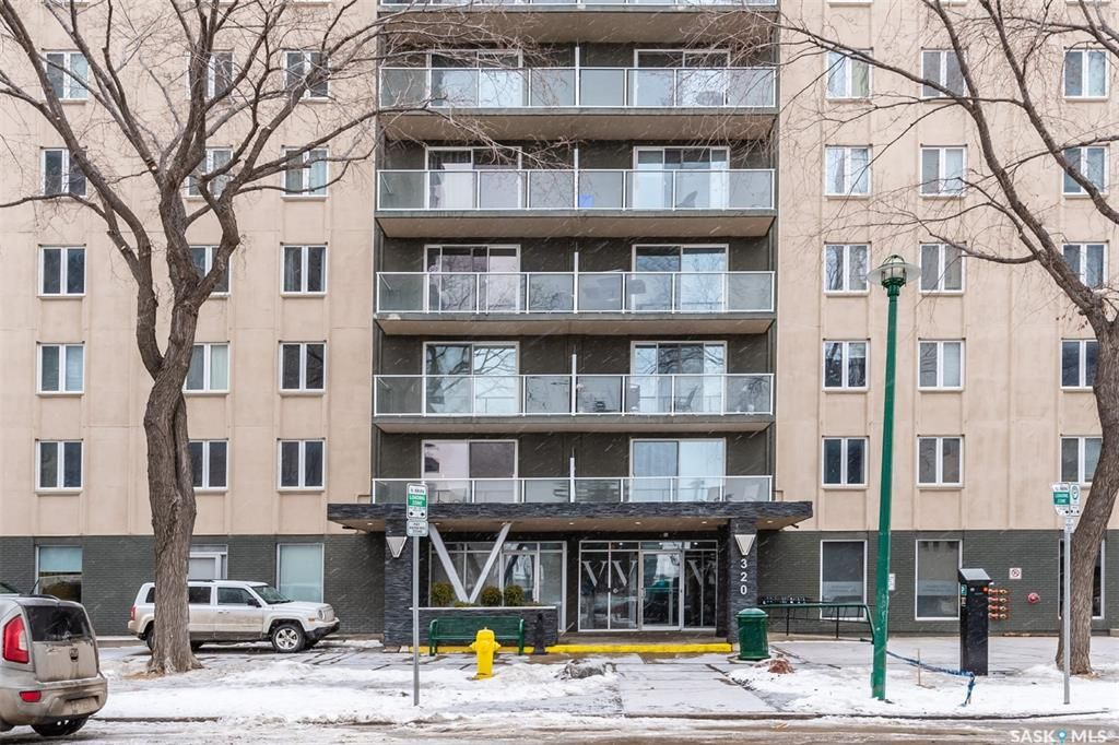 Main Photo: 304 320 5th Avenue North in Saskatoon: Central Business District Residential for sale : MLS®# SK840963