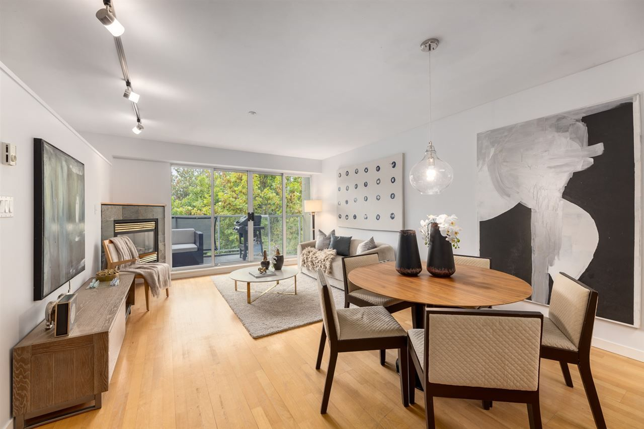 Main Photo: 301 2522 WATERLOO STREET in Vancouver: Kitsilano Condo for sale (Vancouver West)  : MLS®# R2497623