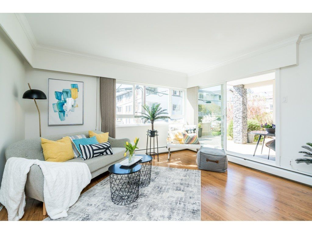 """Main Photo: 103 1371 FOSTER Street: White Rock Condo for sale in """"Kent Manor"""" (South Surrey White Rock)  : MLS®# R2566542"""