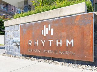 """Photo 1: 506 3281 E KENT AVENUE NORTH in Vancouver: South Marine Condo for sale in """"RHYTHM"""" (Vancouver East)  : MLS®# R2601108"""