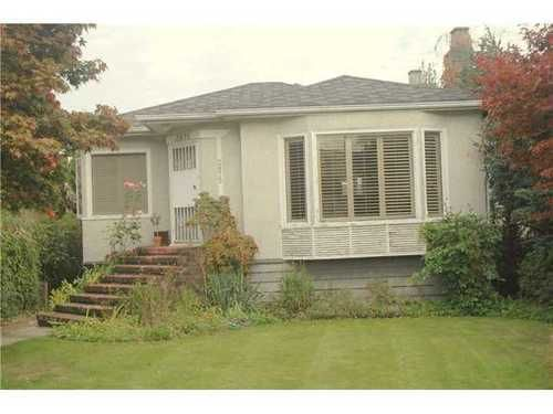 Main Photo: 2875 ALAMEIN Ave in Vancouver West: Home for sale : MLS®# V1050320