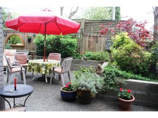 """Photo 10: 105 838 W 16TH Avenue in Vancouver: Cambie Condo for sale in """"WILLOW SPRINGS"""" (Vancouver West)  : MLS®# V823923"""