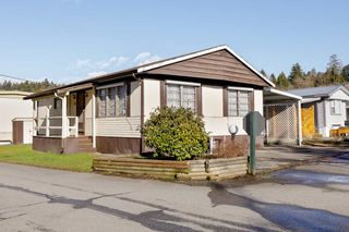 "Photo 1: 74 201 CAYER Street in Coquitlam: Maillardville Manufactured Home for sale in ""WILDWOOD PARK"" : MLS®# R2542534"