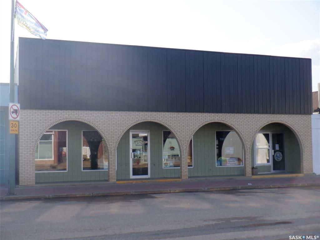 Main Photo: 213 Main Street in Unity: Commercial for sale : MLS®# SK872094