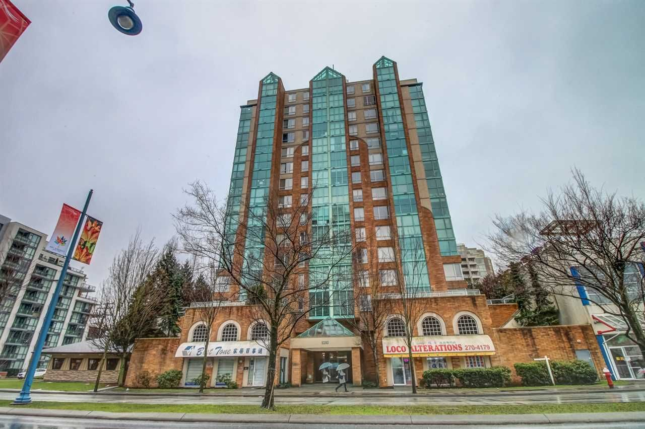 Main Photo: 702 8280 WESTMINSTER Highway in Richmond: Brighouse Condo for sale : MLS®# R2144607