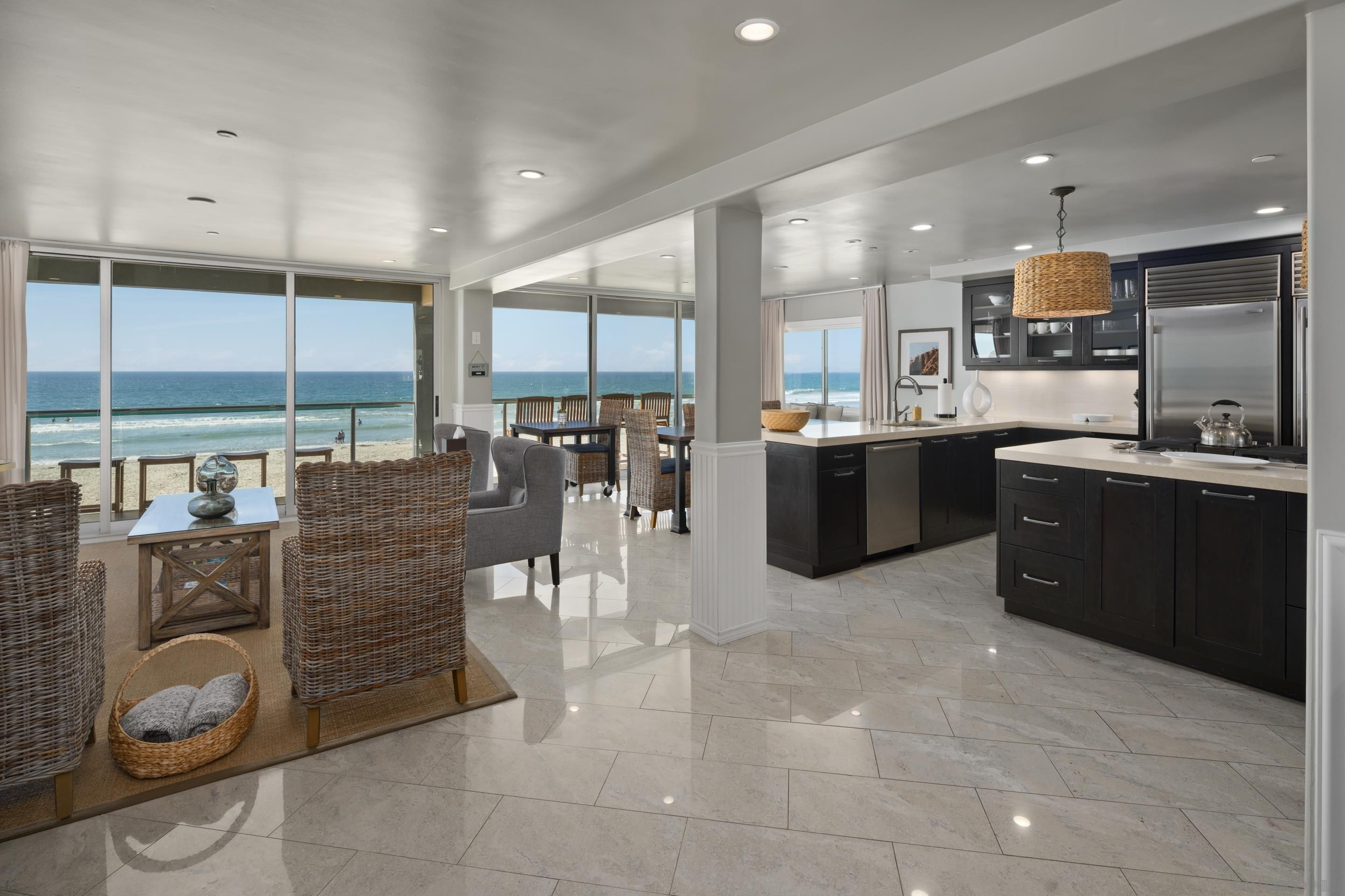 Main Photo: MISSION BEACH Condo for sale : 5 bedrooms : 3607 Ocean Front Walk 9 and 10 in San Diego