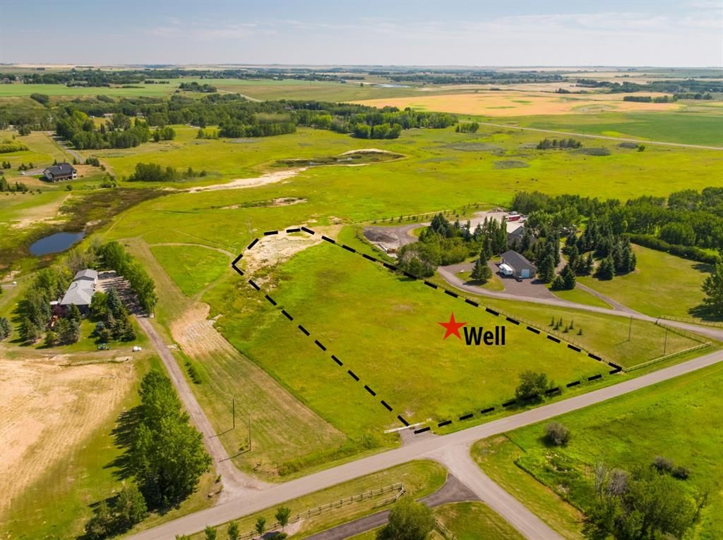 Main Photo: 3ac NORTH of DUNBOW Rd on 48 Street: Rural Foothills County Residential Land for sale : MLS®# A1092643