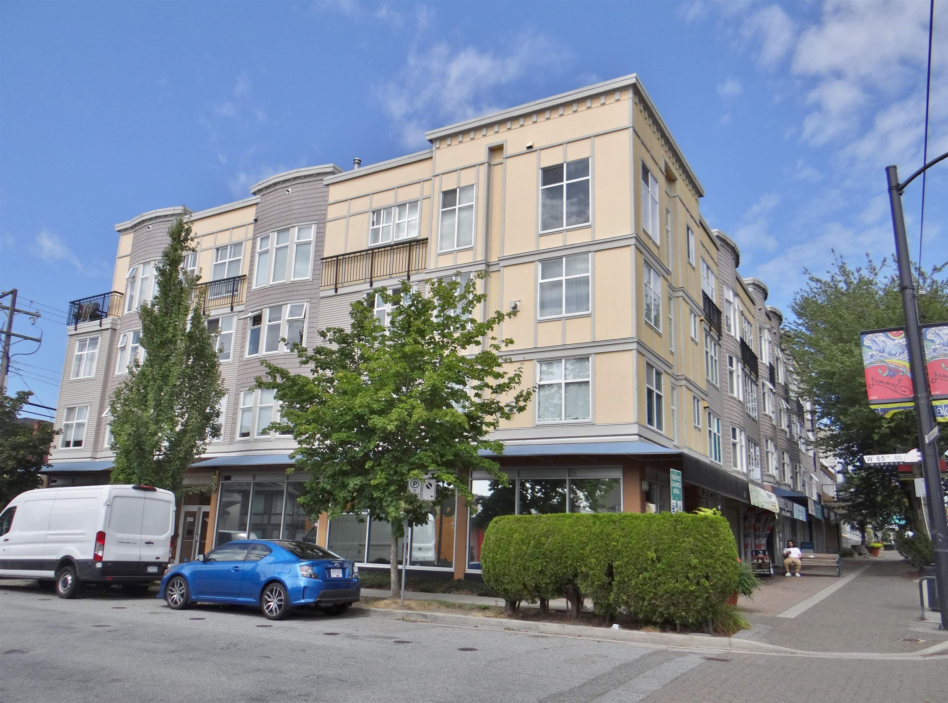 """Main Photo: 206 1503 W 65TH Avenue in Vancouver: S.W. Marine Condo for sale in """"The Soho"""" (Vancouver West)  : MLS®# R2610726"""