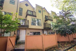 """Photo 1: 3 7311 MOFFATT Road in Richmond: Brighouse South Townhouse for sale in """"HAMPTON PLACE"""" : MLS®# R2515098"""