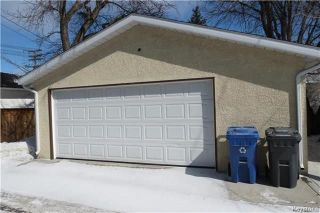 Photo 20: 184 Semple Avenue in Winnipeg: Scotia Heights Residential for sale (4D)  : MLS®# 1808115