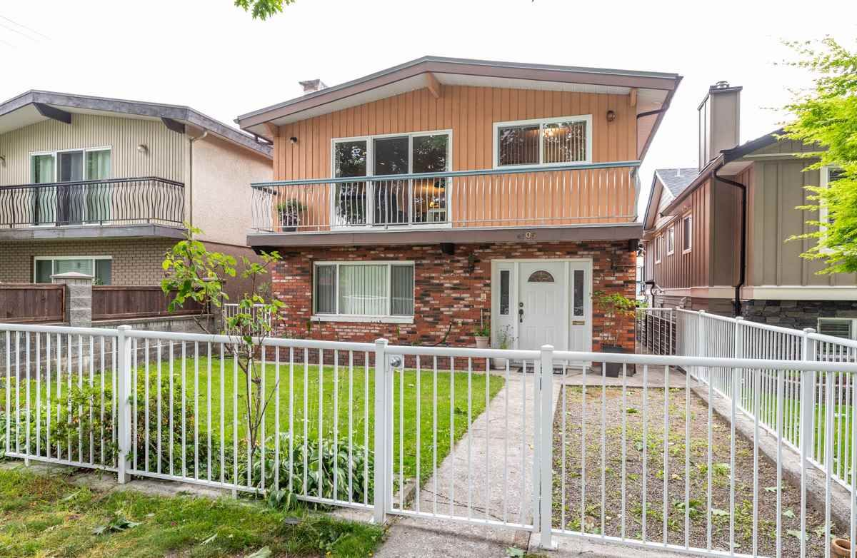Main Photo: 4105 CAMBRIDGE STREET in Burnaby: Vancouver Heights House for sale (Burnaby North)  : MLS®# R2412305