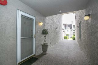"""Photo 2: 101 219 BEGIN Street in Coquitlam: Maillardville Townhouse for sale in """"PLACE FOUNTAINEBLEU"""" : MLS®# R2090733"""