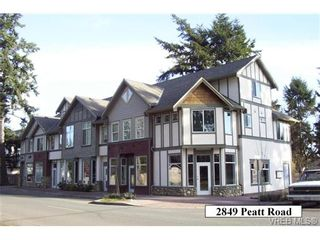 Photo 1: 101 2849 Peatt Rd in VICTORIA: La Langford Proper Office for sale (Langford)  : MLS®# 723362