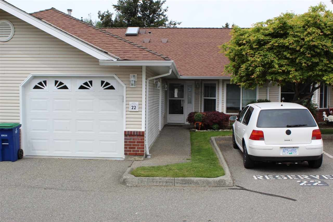 Main Photo: 22 2006 WINFIELD DRIVE in Abbotsford: Abbotsford East Townhouse for sale : MLS®# R2582812