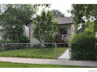 Photo 1: 486 Riverton Avenue in WINNIPEG: East Kildonan Residential for sale (North East Winnipeg)  : MLS®# 1518051
