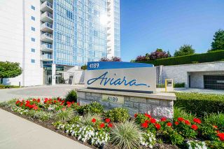 """Photo 1: 701 4189 HALIFAX Street in Burnaby: Brentwood Park Condo for sale in """"AVIARA"""" (Burnaby North)  : MLS®# R2477712"""