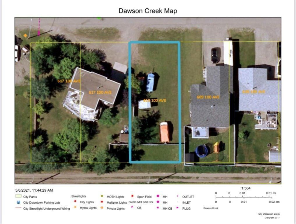 Photo 1: Photos: 613 100 Avenue, in Dawson Creek: Vacant Land for sale : MLS®# 189326