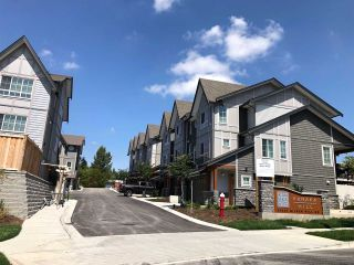 Photo 1: 13 23539 GILKER HILL Road in Maple Ridge: Cottonwood MR Townhouse for sale : MLS®# R2398962