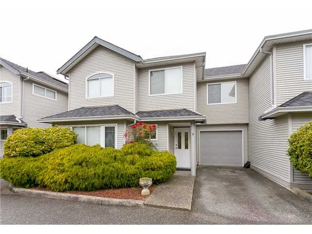 Main Photo: #9 19271 Ford Road in Pitt Meadows: Central Meadows Townhouse for sale : MLS®# V1054609