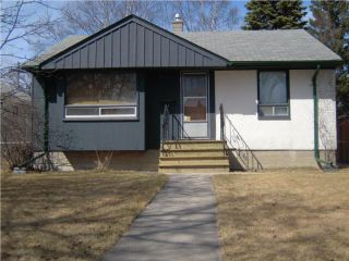 Photo 1: 1099 Warsaw Avenue in WINNIPEG: Manitoba Other Residential for sale : MLS®# 1006230