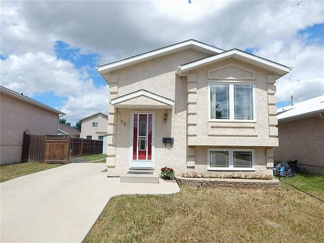 Main Photo: 73 Shauna Way in Winnipeg: Harbour View South Residential for sale (3J)  : MLS®# 1917899
