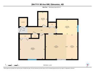 Photo 43: 204 7111 80 Avenue in Edmonton: Zone 17 Condo for sale : MLS®# E4256387