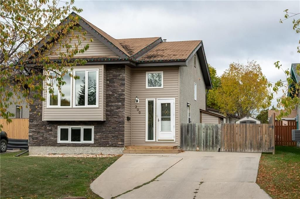 Photo 1: Photos: 206 Willowbend Crescent in Winnipeg: River Park South Residential for sale (2F)  : MLS®# 202024693
