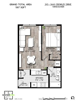 """Photo 23: 210 3663 CROWLEY Drive in Vancouver: Collingwood VE Condo for sale in """"Latitude"""" (Vancouver East)  : MLS®# R2568381"""