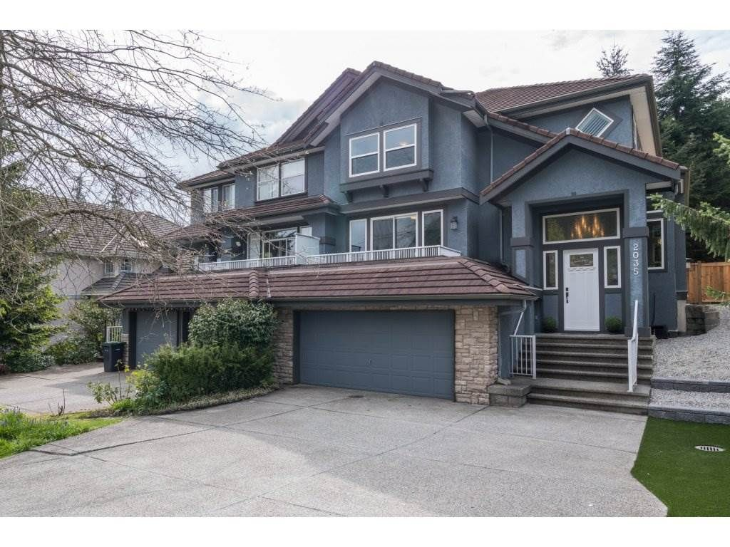 Main Photo: 2035 PARKWAY BOULEVARD in Coquitlam: Westwood Plateau 1/2 Duplex for sale : MLS®# R2168235