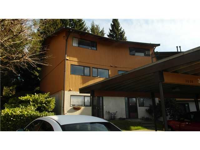 Main Photo: 3036 N Carina Place in North Burnaby: Simon Fraser Hills Townhouse for sale (Burnaby North)  : MLS®# V1108336