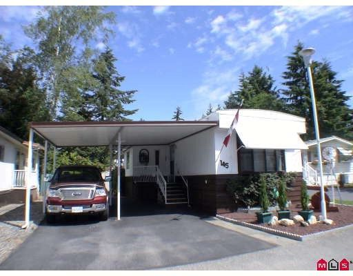 """Main Photo: 145 3665 244 Street in Langley: Otter District Manufactured Home for sale in """"Langley Grove Estates"""" : MLS®# F2916375"""