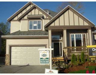 """Photo 1: 7403 200A Street in Langley: Willoughby Heights House for sale in """"JERICHO RIDGE"""" : MLS®# F2609324"""