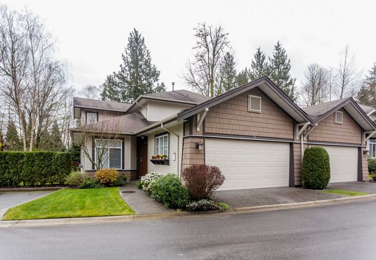 "Main Photo: 12 8588 168A Street in Surrey: Fleetwood Tynehead Townhouse for sale in ""BROOKSTONE"" : MLS®# R2043837"