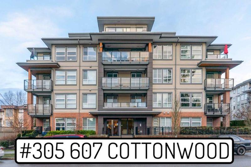 FEATURED LISTING: 305 - 607 COTTONWOOD Avenue Coquitlam