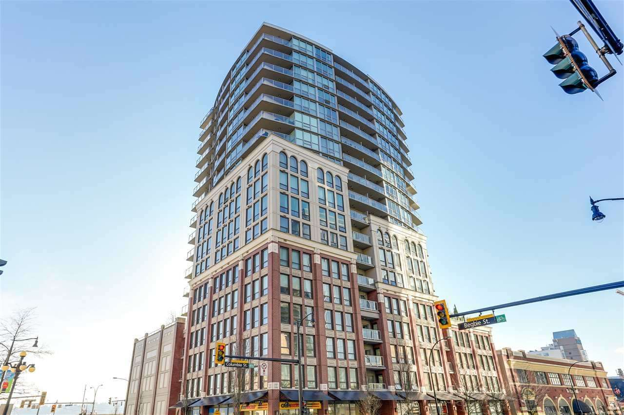 """Main Photo: 603 14 BEGBIE Street in New Westminster: Quay Condo for sale in """"INTERURBAN"""" : MLS®# R2306521"""
