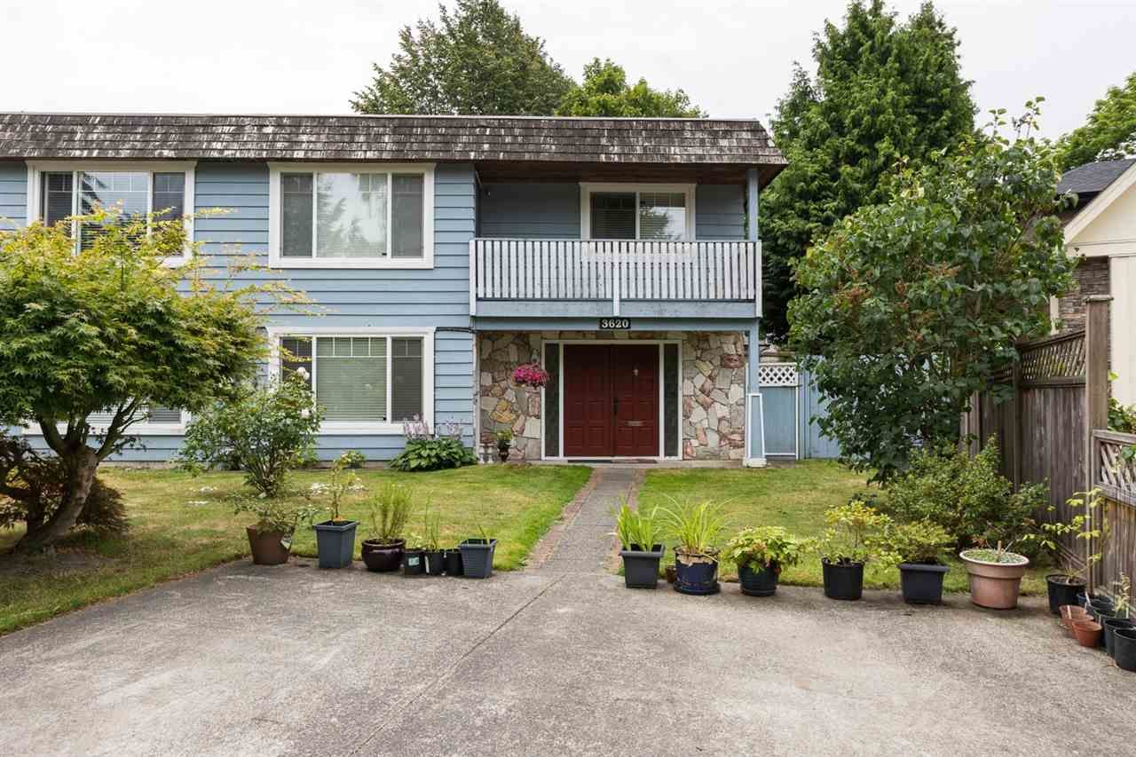 Main Photo: 3620 SOLWAY Drive in Richmond: Steveston North 1/2 Duplex for sale : MLS®# R2091389