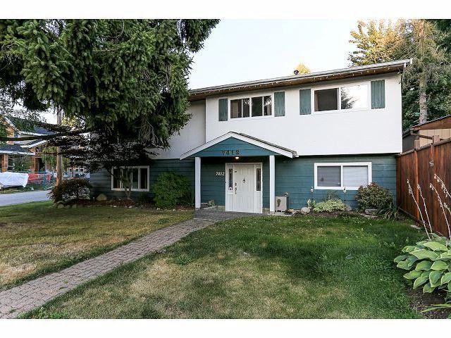 Main Photo: 7412 113 Street in Delta: Scottsdale House for sale (N. Delta)  : MLS®# F1420862