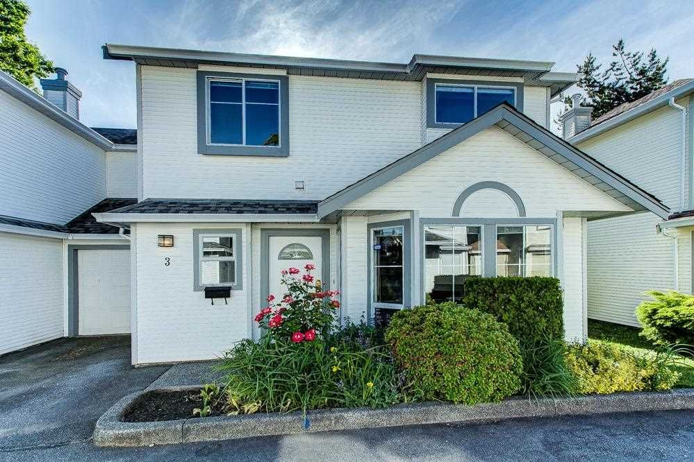 """Main Photo: 3 18951 FORD Road in Pitt Meadows: Central Meadows Townhouse for sale in """"PINE MEADOWS"""" : MLS®# R2588089"""